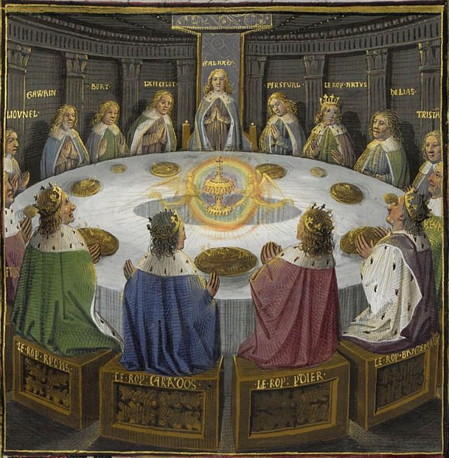800px Holy grail round table bnf ms fr 116F f610v 15th detail 1